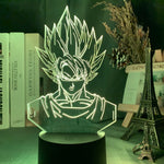 Lampe aspect 3D Goku Dragon Ball