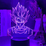 Lampe 3D Dragon Ball Goku