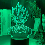 Lampe hologramme 3D Goku Dragon Ball
