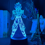 Lampe 3D Dragon Ball Goku Super Saiyan