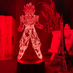 Lampe 3D led Dragon Ball Goku Super Saiyan