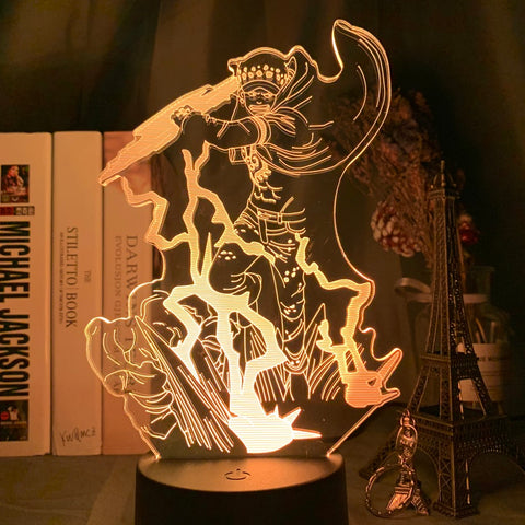 Lampe led 3D Trafalgar Law One Piece