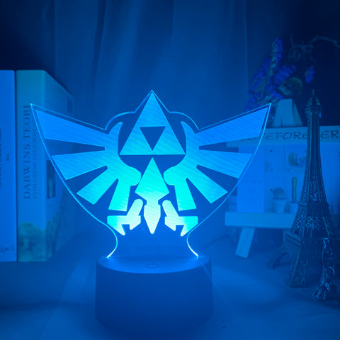 Lampe 3D Zelda Triforce