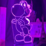 Lampe Holographique Yoshi