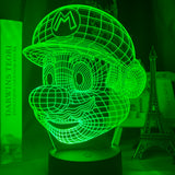 Lampe Hologramme Mario