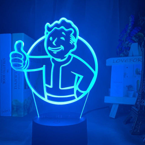 Lampe 3D Fallout