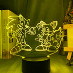 Lampe 3D Tails Sonic