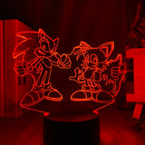 Lampe hologramme 3D Sonic Tails