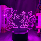 Lampe illusion 3D Sonic Tails