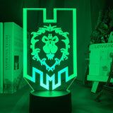 Lampe 3D Alliance World of Warcraft