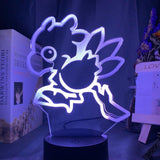 Lampe Illusion 3D Chocobo