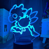 Lampe Led 3D Chocobo
