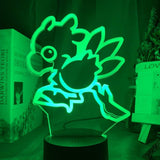 Lampe 3D Led Chocobo