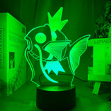 Lampe led 3D Magicarpe