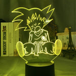 Lampe 3D Dragon Ball Goku Enfant