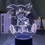 Lampe led 3D Dragon Ball Goku Enfant