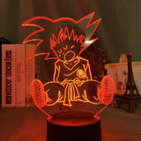 Lampe led 3D Goku Enfant