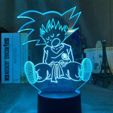 Lampe hologramme 3D Dragon Ball Goku Enfant