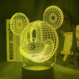Lampe hologramme 3D Disney Mickey