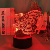 Lampe 3D Led Star Trek