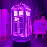 Lampe 3D Tardis Doctor Who