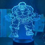 Lampe Illusion 3D Hulk