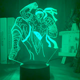 Lampe illusion hologramme 3D Lee Sin