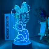 Lampe illusion 3D Minnie Mouse