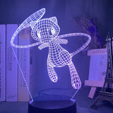 Lampe hologramme 3D Mew