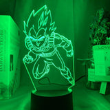 Lampe led 3D Dragon Ball Vegeta