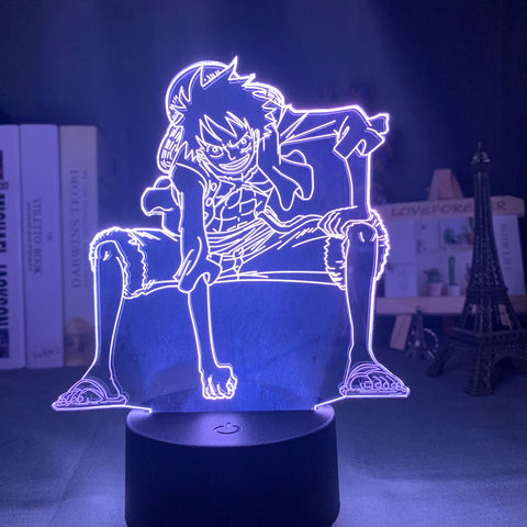 Lampe 3D Luffy One Piece