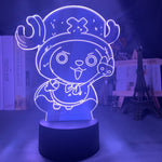 Lampe hologramme 3D Tony Tony Chopper One Piece