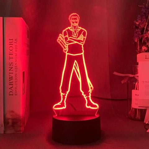 Lampe 3D Zoro One Piece