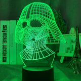 Lampe Led 3D Star Wars Dark Vador