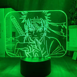Lampe 3D LED Naruto Multi Clonage