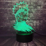 Lampe 3D Buste Naruto