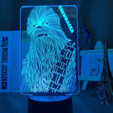 Lampe Led 3D Chewbacca Star Wars