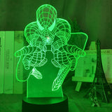 Lampe Led 3D Spider-Man