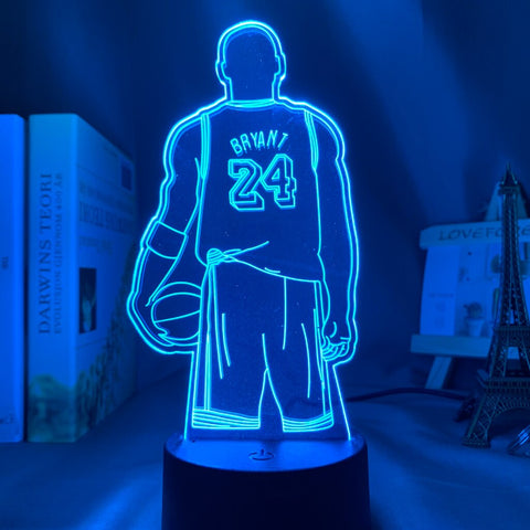 Lampe Holographique Kobe Bryant