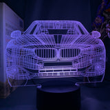 Lampe effet hologramme BMW