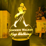 Lampe 3D Scotch Johnnie Walker