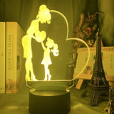 Lampe 3D Amour Maternel