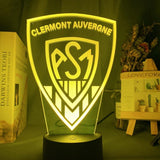 Lampe led 3D ASM Clermont Auvergne
