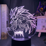 Lampe 3D Dragon Ball Goku Super Saiyan 3