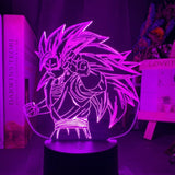 Lampe 3D led Dragon Ball Goku Super Saiyan 3