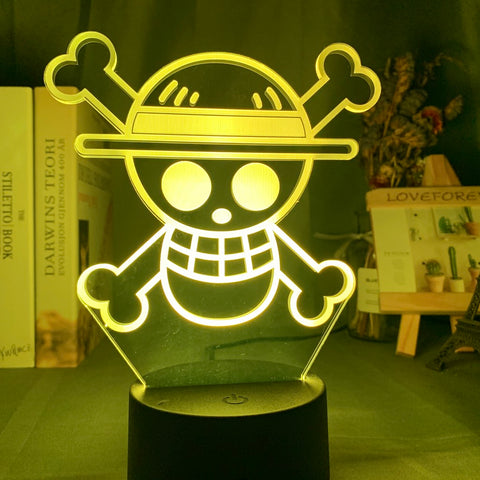 Lampe 3D Logo One Piece