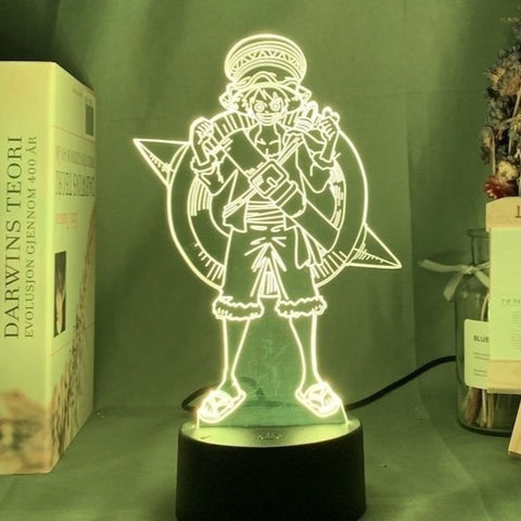 Lampe 3D Luffy Enfant