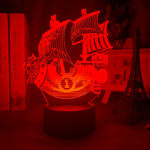 Lampe 3D Thousand Sunny One Piece
