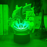 Lampe led 3D Thousand Sunny