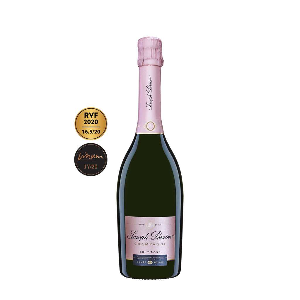JOSEPH PERRIER CHAMPAGNE ROYALE CUVEE BRUT ROSE